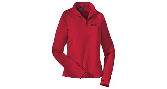 Jack Wolfskin Freedom Half Zip Women tango red